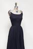 1960s black sun dress from Velvetyogurt