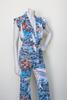 Vintage 1970s Hawaiian print pant suit from Velvetyogurt