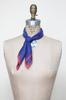 Vintage blue and red kerchief from Velvetyogurt